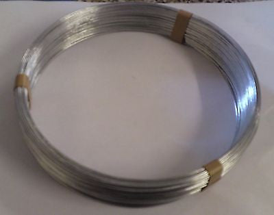 Fence Galvanised Line wire 5kg  roll - 3.15mm chainlink fence garden repair