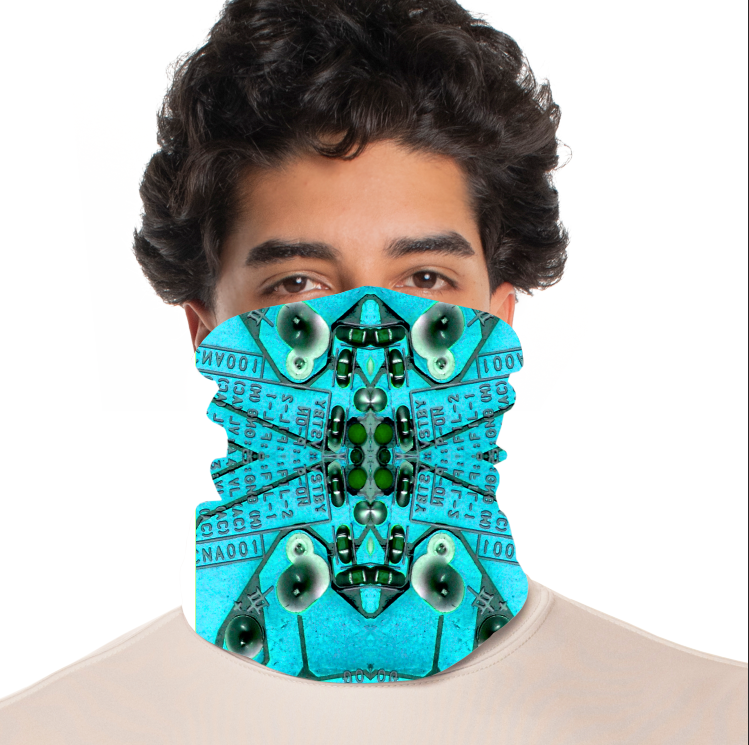 rtribz Neck Gaiter / Face Cover - Circuito
