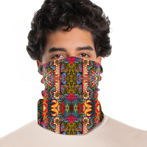 rtribz Neck Gaiter / Face Cover - Langosta