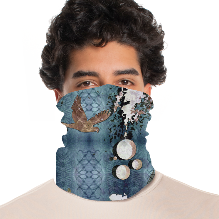 rtribz Neck Gaiter / Face Cover - Paloma