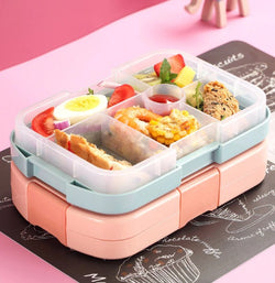 Multiple Grid Lunch Box
