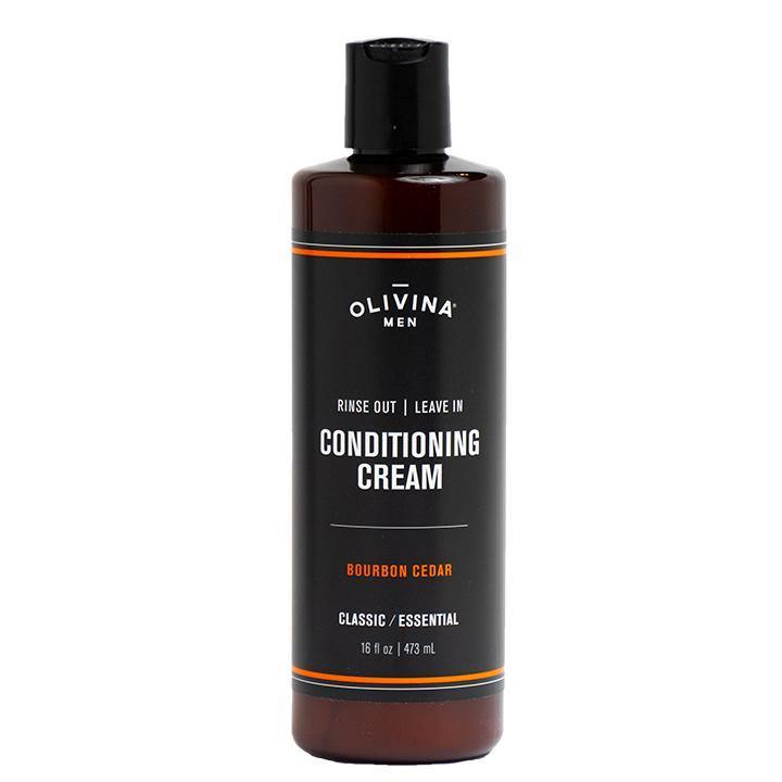 Rinse Out Leave In Conditioning Cream - Bourbon Cedar