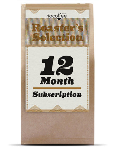 12 month coffee subscription