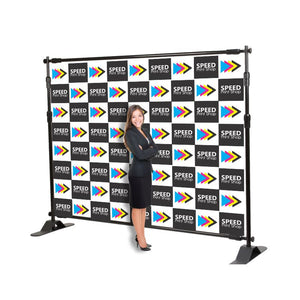 Step and Repeat Backdrop Vinyl