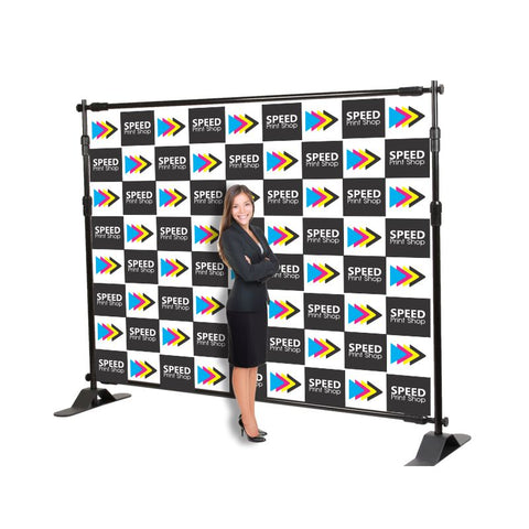 Banner backdrop 10'x8′ (hardware not included)