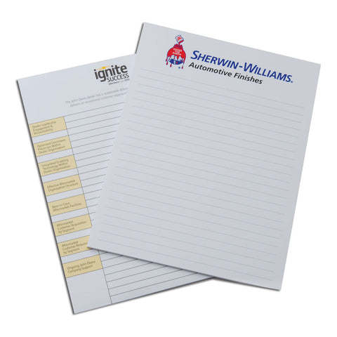 NOTEPADS 8,5″x11″ 25 sheets