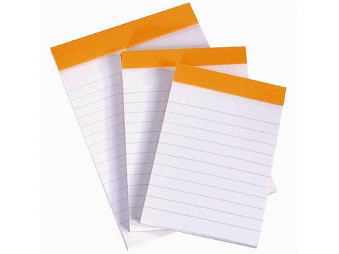 NOTEPADS 4″x6″ 25 sheets