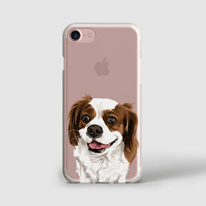 Custom Pet Portraits iPhone Case