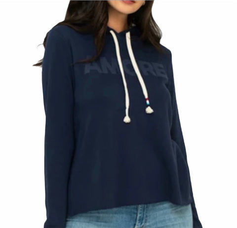 "NEW ARRIVAL!  SOL ANGELES Canyon Crop Hoodie ""AMORE"""