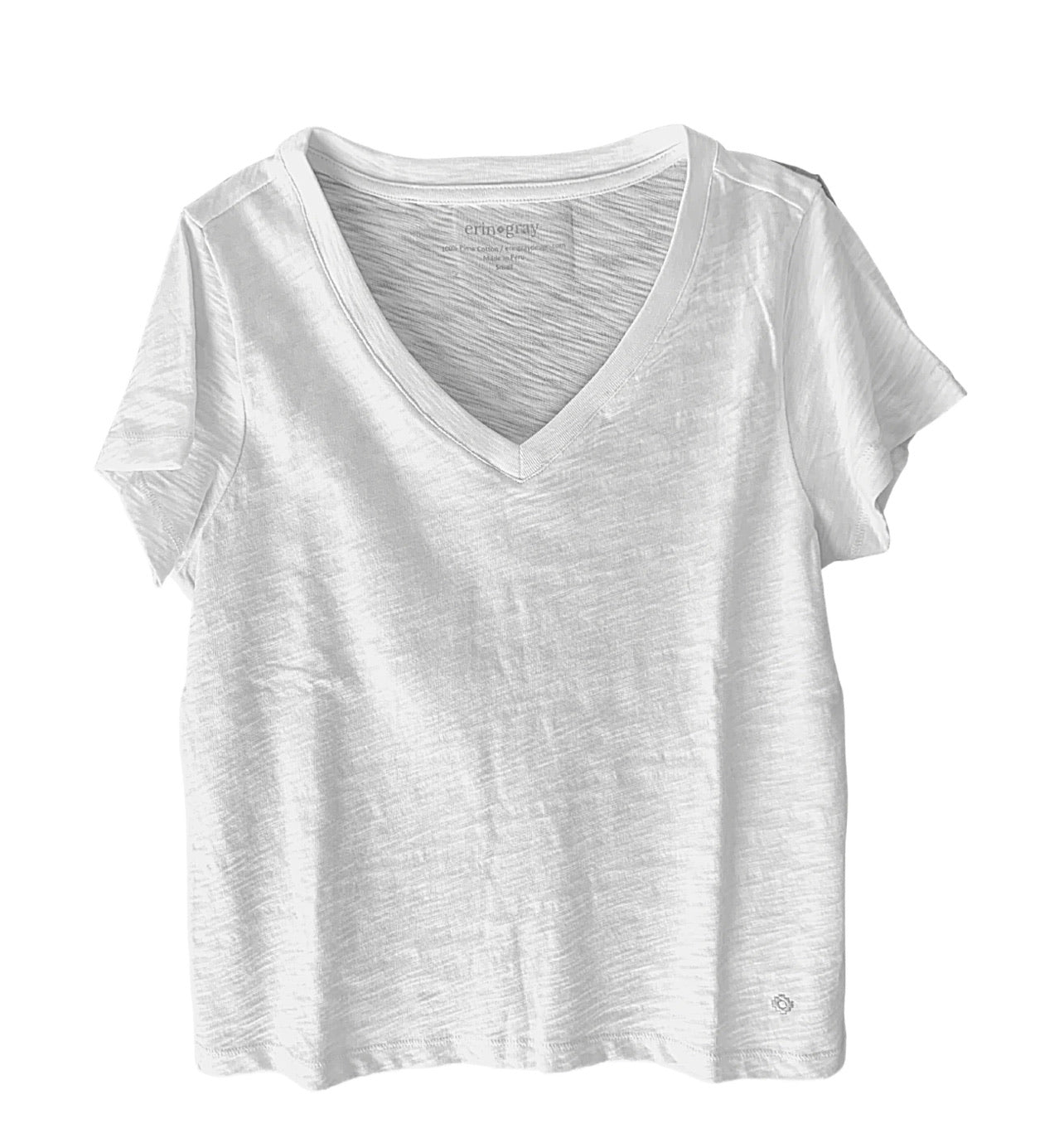 V-Neck Women's Tee by Erin Gray