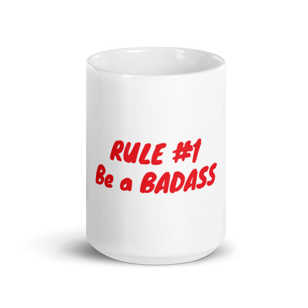Clique + Clique Collection Mug Rule #1 Be a Badass