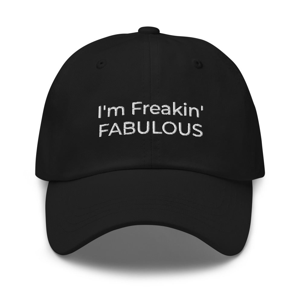 Clique + Clique Collection I'm Freakin' Fabulous Baseball Hat