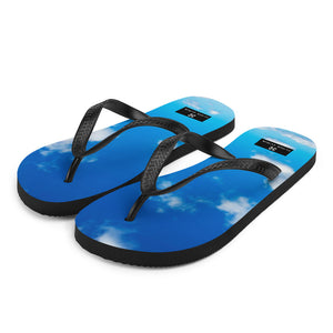 Clique + Clique Flip-Flops Walking on the Clouds