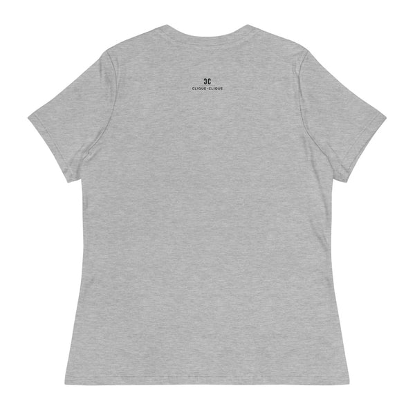 Clique + Clique Collection Women's Relaxed T-Shirt. Drama