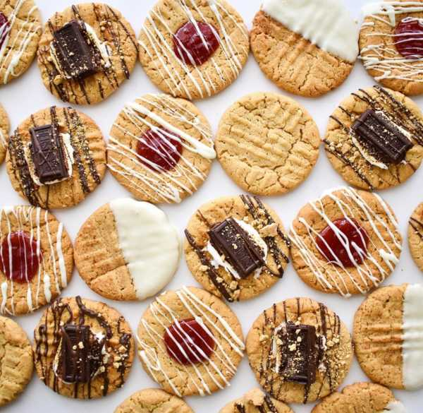 Not-So-Classic Peanut Butter Cookies