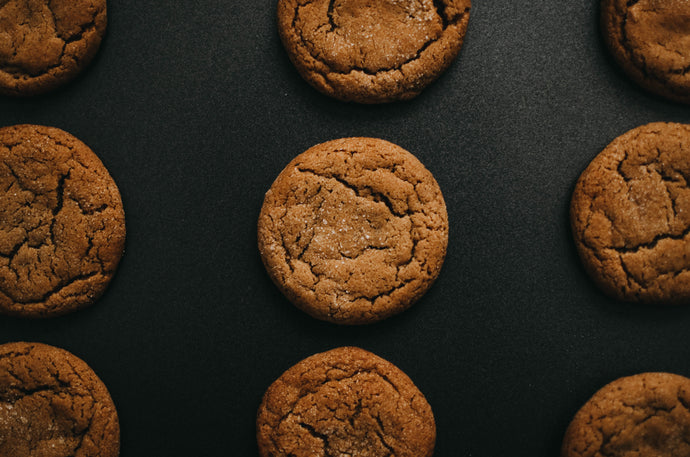 No Bake 3 Ingredient Cinnamon Almond Butter Cookies