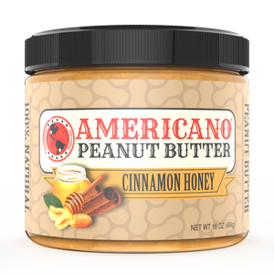 Cinnamon Honey Peanut Butter (16oz)