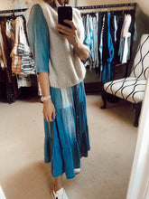 Load image into Gallery viewer, Denim maxi dress