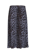 Load image into Gallery viewer, Blue leopard skirt