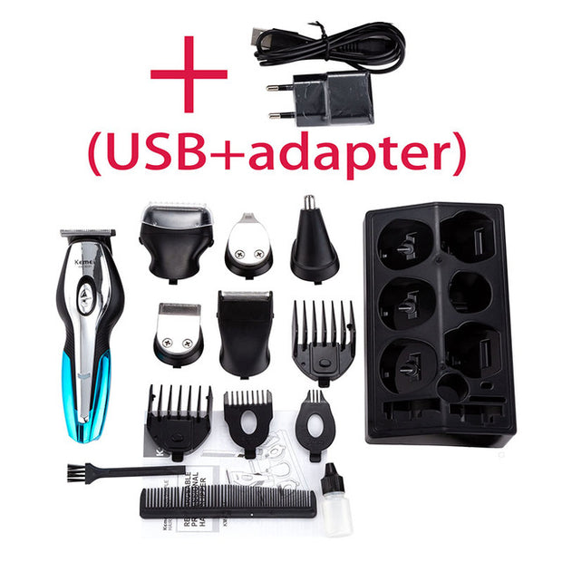 Electric Beard Trimmer - usb charger