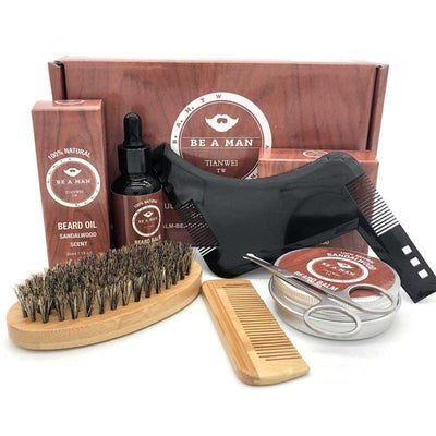 Be A Man Beard Kit