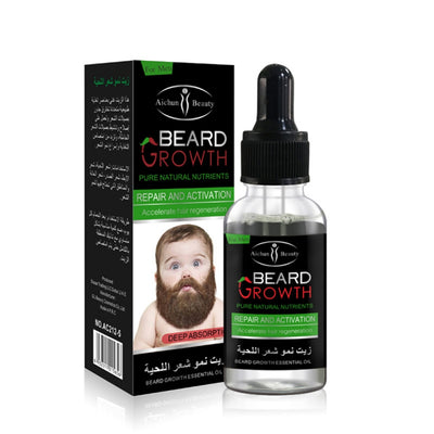 Liquid Beard Growth Oil