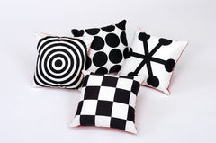 Geometric Perception Cushions Pack - helps children develop their eye site
