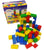 Coloured Wooden Playbricks -
