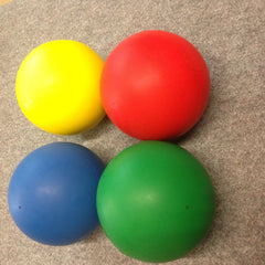 Rubber Coated Foam Ball set - Multisensory.biz