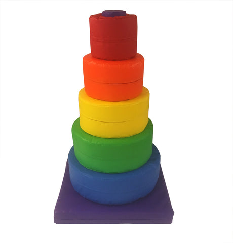 Circular Soft Play Stacker