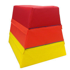 Junior Vaulting Box - colourful and great for teaching gymnastics for little children.