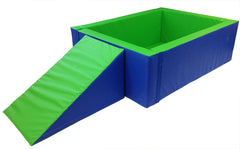 Soft Play Ballpool/play pen - rectangular - Multisensory.biz - 1