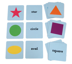 Shapes Matching Tiles - Multisensory.biz - 1