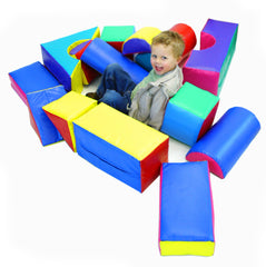 Soft Play 14 shape kit - Multisensory.biz - 1
