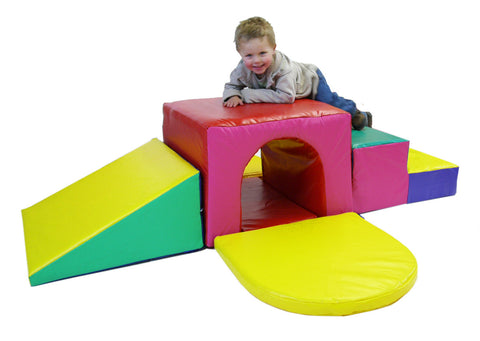 Soft Play soft tunnel climber