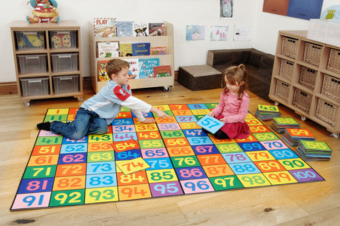 Super Giant 1-100 Numbers Mat.