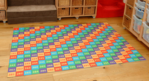 Super Giant 1-300 Numbers Mat