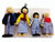 White Family Dolls Set - Multisensory.biz - 1