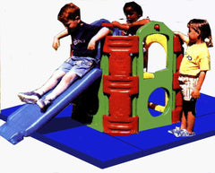 Feber Activity Frame Safety Mats - safety mats for this climbing frame
