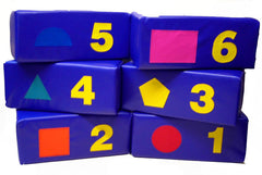 Number Blocks - great for number and shape recognition ,