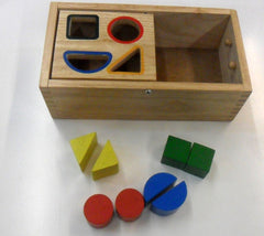 Posting Box Shape Sorter - place the right shape into the right hole