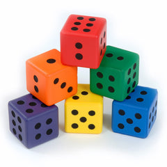 Small Dice Set - Multisensory.biz