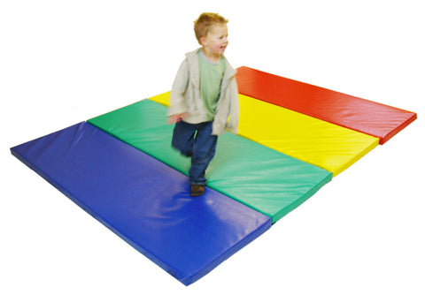 Soft play tumbling mats