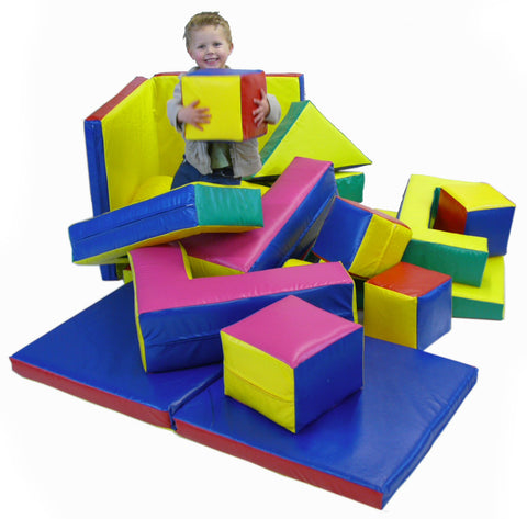 Soft Play 19 shape set