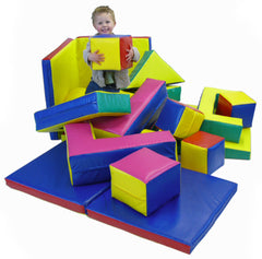 Soft Play 19 shape set - Multisensory.biz - 1