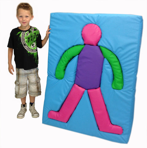 Soft Play Body Shape Mat