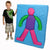 Soft Play Body Shape Mat - Multisensory.biz - 1