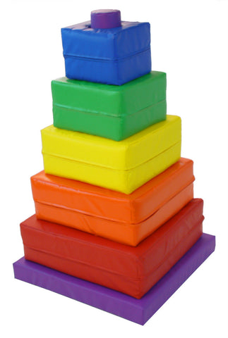 Square Soft Play Stacker