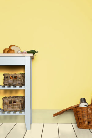 Laden Sie das Bild in den Galerie-Viewer, Farrow & Ball Farbe - Hound Lemon 2 Wand