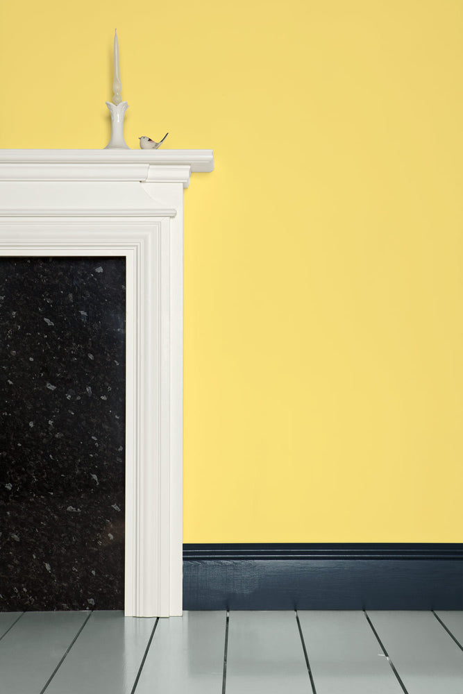 Farrow & Ball Farbe - Dayroom Yellow 233 Wand